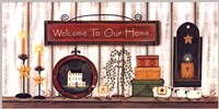 Welcome to Our Home Fine Art Print