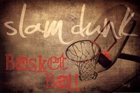 Slam Dunk Fine Art Print