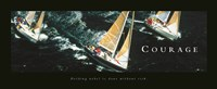 Courage-Sailboats Fine Art Print