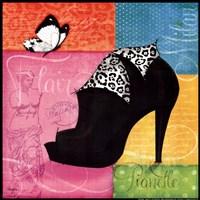"Chic Shoe I by Mollie B. - 12"" x 12"""