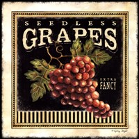 Seedless Grapes Fine Art Print