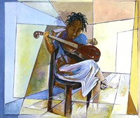 Little Musician II Fine Art Print