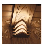 "Architectural Detail No. 49 by Ellen Fisch - 13"" x 14"""