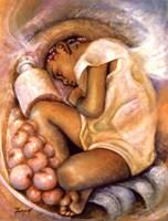 Sleeping Angel Fine Art Print