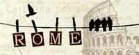 "20"" x 8"" Rome"