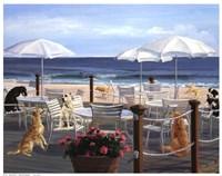 Beach Club Tails Fine Art Print