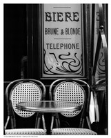 "Biere Brune et Blonde - 8"" x 10"""