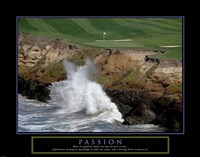 Golf-Passion Framed Print