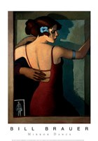 "Mirror Dance by Bill Brauer - 14"" x 20"""