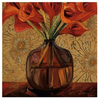 Orange Lilies Fine Art Print