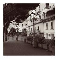 Strada, Amalfi Fine Art Print