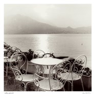 "Caffe, Varenna by Alan Blaustein - 13"" x 14"""