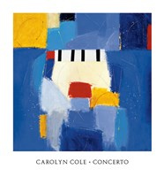 "Concerto by Carolyn Cole - 26"" x 28"""