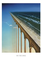 """On the Edge by Samy Charnine - 24"""" x 34"""""""