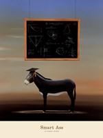 """Smart Ass by Robert Deyber - 18"""" x 24"""", FulcrumGallery.com brand"""