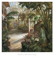 The Conservatory Fine Art Print