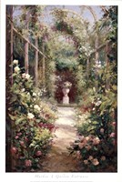 "Garden Entrance by Haibin - 24"" x 36"""