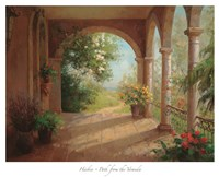 Path from the Veranda Fine Art Print