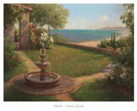 Seaside Garden [horizontal] Fine Art Print