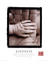 "Kindness - Hands by Linda Stubbs - 22"" x 28"""