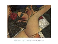 Tango Kiss Fine Art Print