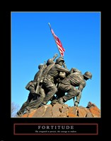 Fortitude-Iwo Jima by Linda Stubbs - various sizes