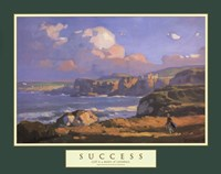 Success-Irish Links Fine Art Print