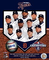 Detroit Tigers 2012 American League Champions Composite Fine Art Print