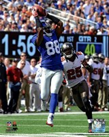 "Hakeem Nicks 2012 catch - 8"" x 10"", FulcrumGallery.com brand"