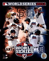 San Francisco Giants vs. Detroit Tigers World Series Match-up Composite Fine Art Print