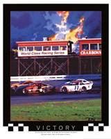 Victory-Auto Racing Fine Art Print