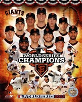 San Francisco Giants 2012 World Series Champions Composite Fine Art Print