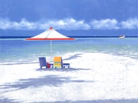 Beach Life I Fine Art Print