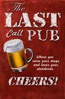 Last Call Pub Fine Art Print