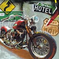 Highway 101 Fine Art Print