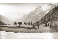 Snow on the Galibier, 1924 Fine Art Print