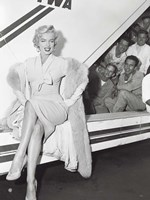 Marilyn Monroe in Airport Fine Art Print