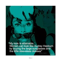 Audrey Hepburn- Attainable Fine Art Print