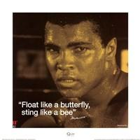 Muhammad Ali- Butterfly Fine Art Print