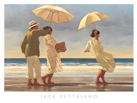 "The Picnic Party II by Jack Vettriano - 47"" x 36"", FulcrumGallery.com brand"
