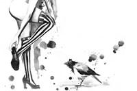 White Stripes Fine Art Print