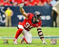 J.J. Watt 2012 position Fine Art Print