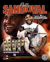 Pablo Sandoval 2012 World Series MVP Portrait Plus Fine Art Print