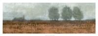 """Blue Fog II by Norman Wyatt Jr. - 36"""" x 12"""""""