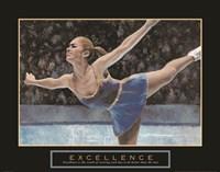 Excellence - Ice Skater Fine Art Print