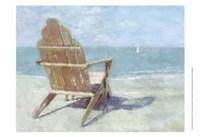 """Beach Lookout II by Noah Bay - 13"""" x 13"""""""