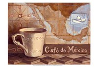Cafe de Mexico Fine Art Print