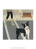 """City Dogs III by Megan Meagher - 10"""" x 13"""", FulcrumGallery.com brand"""