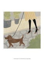 """City Dogs IV by Megan Meagher - 10"""" x 13"""", FulcrumGallery.com brand"""