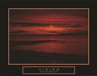 Vision - Crimson Morning Fine Art Print